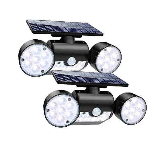 Luz Solar 30LED Lámpara Solar Exterior, IP65 Impermeable Wireless Lámpara Solar con...