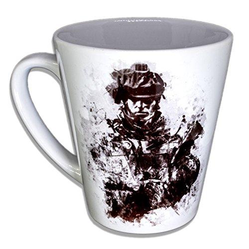 Battlefield - Unikat Handarbeit Designer Tasse aus brillanten Porzellan - Tasse, Becher,...