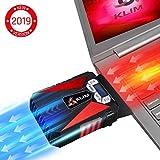 KLIM Cool Refroidisseur - PC Ventilo Portable Gamer - Ventilateur Haute Performance...