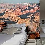 Xbwy Rolling Hills Wohnzimmer Hintergrund 3D Wallpaper Wandbild Photowall 3D Papel De Pared-200X140Cm