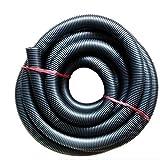 Manguera de aspiradora, favolook 2,5m Extra larga manguera EVA Tubo flexible 32mm tubo de extensión para húmedo seco tienda aspira accesorios