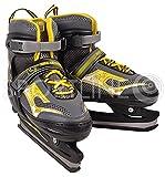 Patins à glace pour enfants, les jeunes, les patins de hockey sur, réglable NH 701A Nils Extreme 34-37