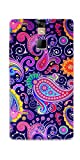 DigiPrints Silicon Designer Back Cover for Micromax Canvas 6 E485-Multicolor