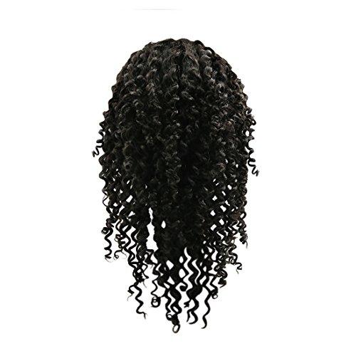 sourcingmap Lace Front cheveux brésilien 7e année Jerry Frisé 18\\