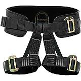 Fusion Climb Fusion Climb Apollo Tactical Zipline Padded Half Body Adjustable Harness 23kN L-XL Black