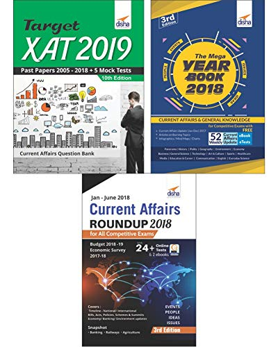 XAT 2019 Simplified (14 yrs. Past Papers + 5 Mock Tests + General Awareness)
