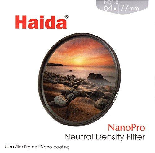 HAIDA Ultra Slim NanoPro MC ND 1.8 ( 64x ) - 77 mm