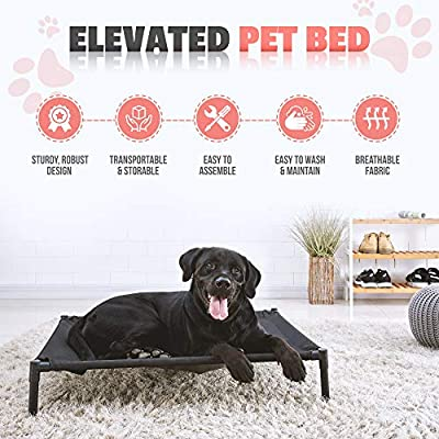 Petlicity WATERPROOF PET DOG CAT BED OUTDOOR/INDOOR CUSHION STRONG STURDY FRAME from Petlicity