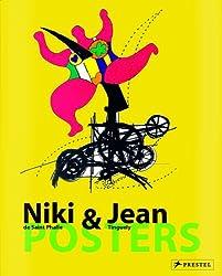 Posters Niki de Saint Phalle & Jean Tinguely : Edition français-allemand-anglais