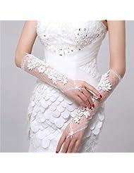 DELLT- Robe de mariée en satin de mariée blanche