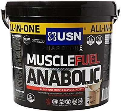 USN 4 kg Anabolic Vanilla Muscle Fuel from USN