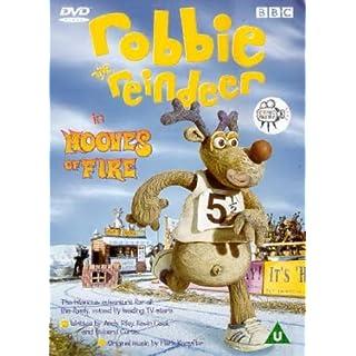 Robbie The Reindeer: Hooves Of Fire [DVD] [1999]