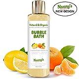 Bagnoschiuma | 100% Naturale - 76% Biologico | Mandarino e Limone | Perfetto per Neonati, Bambini e Adulti