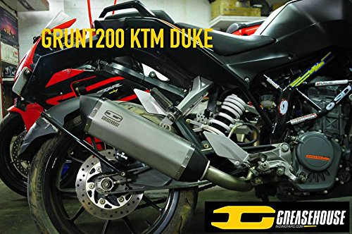 ktm duke 200 grunt v1 performance exhaust KTM Duke 200 GRUNT V1 Performance Exhaust 51N53kFuW3L