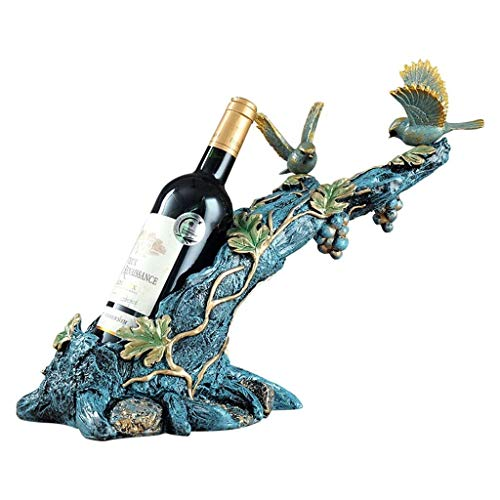 ALXLX Büro Dekoration Dekoration Weinregal, Europäischen Stil Wohnzimmer Veranda Weinschrank Restaurant Dekoration Handwerk Dekoration Weinregal