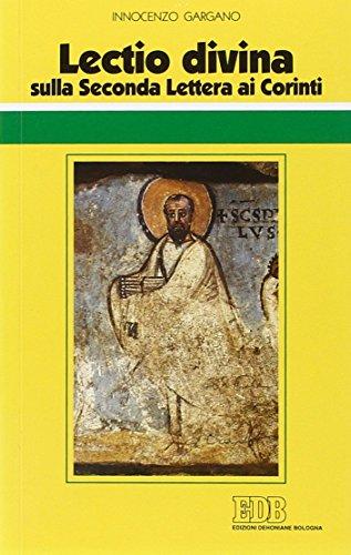 Lectio divina sulla seconda Lettera ai Corinti