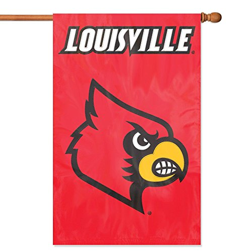 Party Animal Offiziell lizenzierte NCAA College Banner Flaggen, Herren unisex damen, Louisville Cardinals (Louisville College)