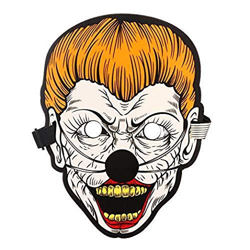 (Smartlife Sound Reaktive LED-Maske Sound Aktiviert Street Dance Für Festivals, Party, Halloween, Karneval, Tanzball, Maskeraden, Cosplay DJ-Maske)