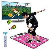 BOYH Tanzmatte Single HD TV Computer Dual-Use Thicken Gewicht Zu Verlieren/Yoga/Somatosensory Spiel/Tanzmaschine,Pink