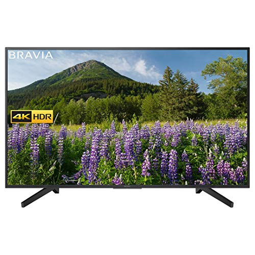 Sony KD49XF7002BU 49 Inch 4K HDR Ultra HD Smart TV with Freeview Play, Black (2018 Model) (Refurbished)