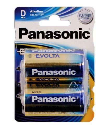 Connect 30648 Panasonic Evolta Batterien, Monozellen, 12 Packungen à 2 Stück (Alias-pack)
