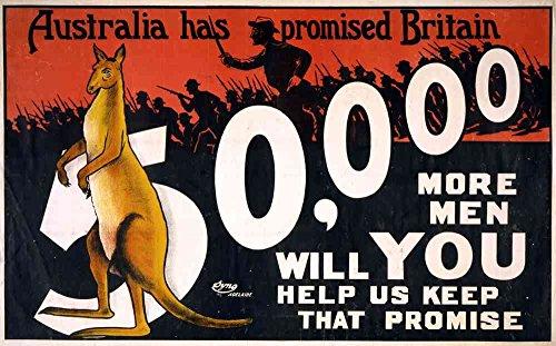 Das Museum Outlet-Australien Versprochen Hat Großbritannien-Poster Print Online kaufen (61x 45,7cm)