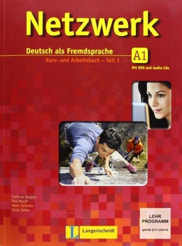 Netzwerk in Teilbanden: Kurs- Und Arbeitsbuch A1 - Teil 1 MIT 2 Audio-Cds Und DVD by Helen Schmitz (2011-11-01)