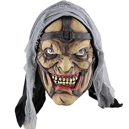 Halloween Masken Erschreckend Verwesender, Hergestellt aus umweltfreundlichen und -