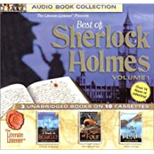 Best of Sherlock Holmes: The Sign of Four, a Study in Scarlet, Valley of Fear (Best of Sherlock Holmes (Countertop Audio))