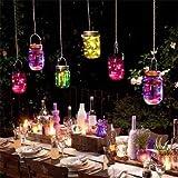 Bottiglia luminosa desiderio luce solare lanterna bottiglia a stella bottiglia di drift colorata (senza manico)