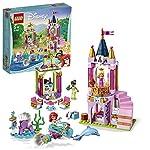LEGO 41162 Disney Princess I Festeggiamenti Reali di Ariel, Aurora e Tiana LEGO