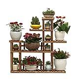 CGF-Pflanzenregale Blumenständer für Blumenständer Blumenständer für Blumenständer Regalständer aus Holz