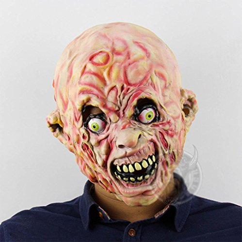 chemisch Krise AAS Zombie Emulsion Maske Halloween Bar Spukhaus Kammer des Schreckens Flucht Ankleiden Requisiten ()