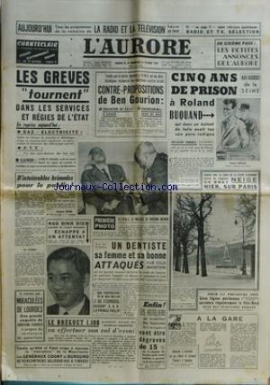 AURORE (L') [No 3875] du 23/02/1957 -