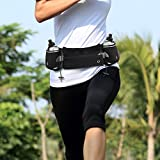 Running Hydration Belt Fitness Workout Waist Pack With Zipper Pouch That Fits IPhone 7plus For Men And Women