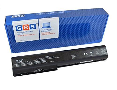 GRS Notebook Akku mit 6600mAh für HP Pavilion dv7, HDX X18, dv8t, dv7t, dv8, ersetzt: 480385-001 GA08 516355-001 KS525AA 464059-141 HSTNN-OB75 516916-001 HSTNN-DB75 HSTNN-IB75 6600mAh, 14,4V - Akku, Pavilion Dv7 Hp