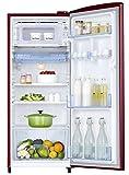 Samsung 192 L 2 Star Direct Cool Single Door Refrigerator (RR19M2712RJ/RR19M1712RJ, Royal Tendril Red)