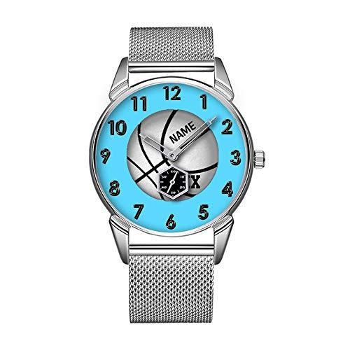 Mode wasserdicht Uhr minimalistischen Persönlichkeit Muster Uhr -643. Personalisierte Basketball Uhren, Trainer, Spieler -