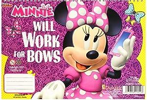 Diakakis 000561503 - Pegatinas para Pintura de Minnie, 23 x 33 cm, diseño de Minnie