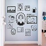 Aha Yo-Mano Dipinta La Figura Camera Capezzale Muro Adesivo Salotto Divano Sfondo Foto Muro Cornice Fotografica Adesivo