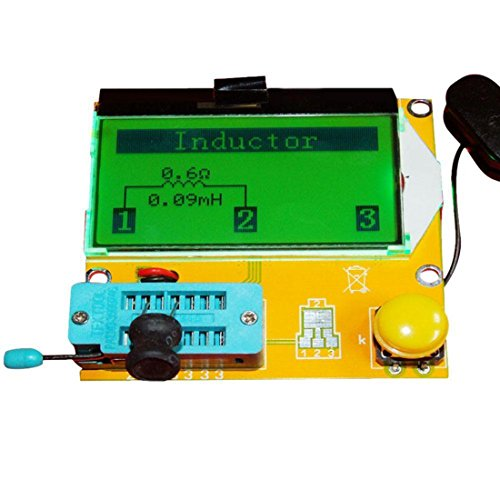 Preisvergleich Produktbild SODIAL(R) LCR-T3 Transistor pruefgeraet Dioden-Trioden kapazitaet ESR LCR Meter MOS PNP NPN