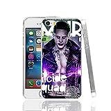 Ch le Joker Jared Leto Suicide Squad iPhone X Coque Super-vilain Superhero Fantasy Science Fiction film 10Coque Harley Quinn Margot Robbie DVD Movie Bande dessinée Super Hero Batman, plastique rigide