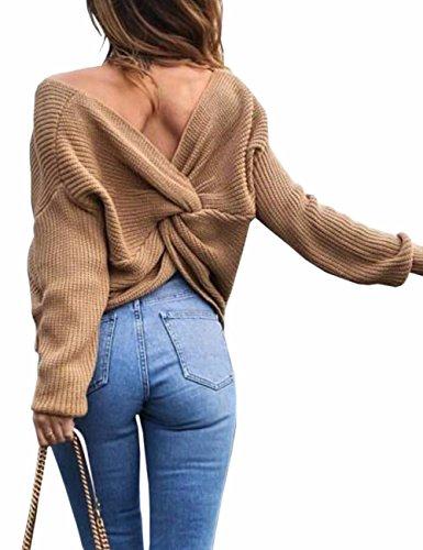 Damen Pullover Stricken