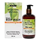 MENSOME Anti Bacterial and Anti Fungal Body wash with Apple Cider Vinegar, Oregano