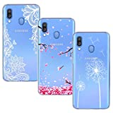 BAOWEI [3-Pack] for Samsung Galaxy A40 Case, Ultra Thin