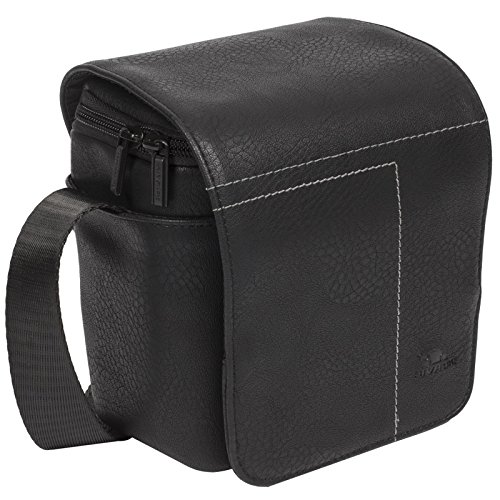RIVA-7611-BLACK-PU Kompaktkamera-Taschen