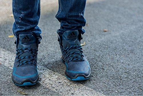 Adidas Climawarm Supreme M18088 Herren Sneakers / Freizeitschuhe / Trainingsschuhe Schwarz Dunkelblau