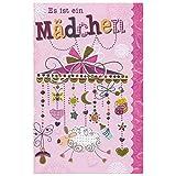 Susy Card 40009841 Grußkarte zur Geburt/ Mädchen