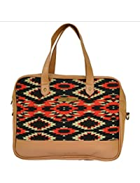 Crunchy Fashion Aztec Love Women's Laptop & Tote Bag Multi-Coloured