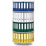 Ordner-Drehsäule 4 Etagen bis zu 96 Ordner, 800mm Durchmesser